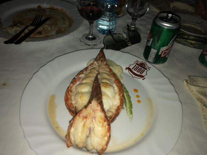 lobster tail Camagüey