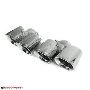 Porsche 997.2 Turbo / Turbo S Deluxe Quad Style Tips (2010-2012)