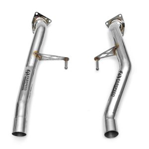 Porsche 955 Turbo / Turbo S Secondary Cat Bypass Pipes (2002-2007)