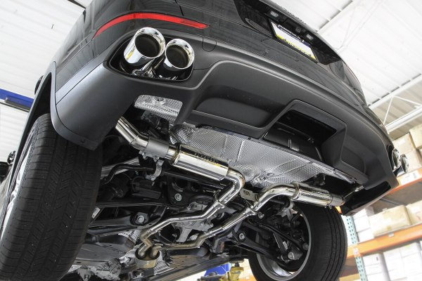 Porsche 958.2 Cayenne Turbo / Turbo S Supercup Exhaust System (2015-2018)