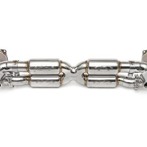 Porsche 997.2 Turbo / Turbo S Supersport X-Pipe Exhaust System (2010-2012)