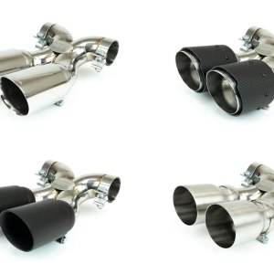 Porsche 987.2 Boxster / Cayman, Cayman R, Spyder Maxflo True X-Pipe with Dual Tips (2009-2012)