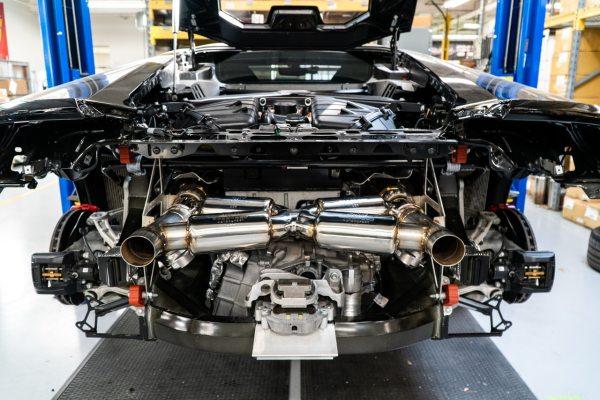 Lamborghini Huracan Performante Valvetronic Dual Tone Supersport X-Pipe Exhaust System