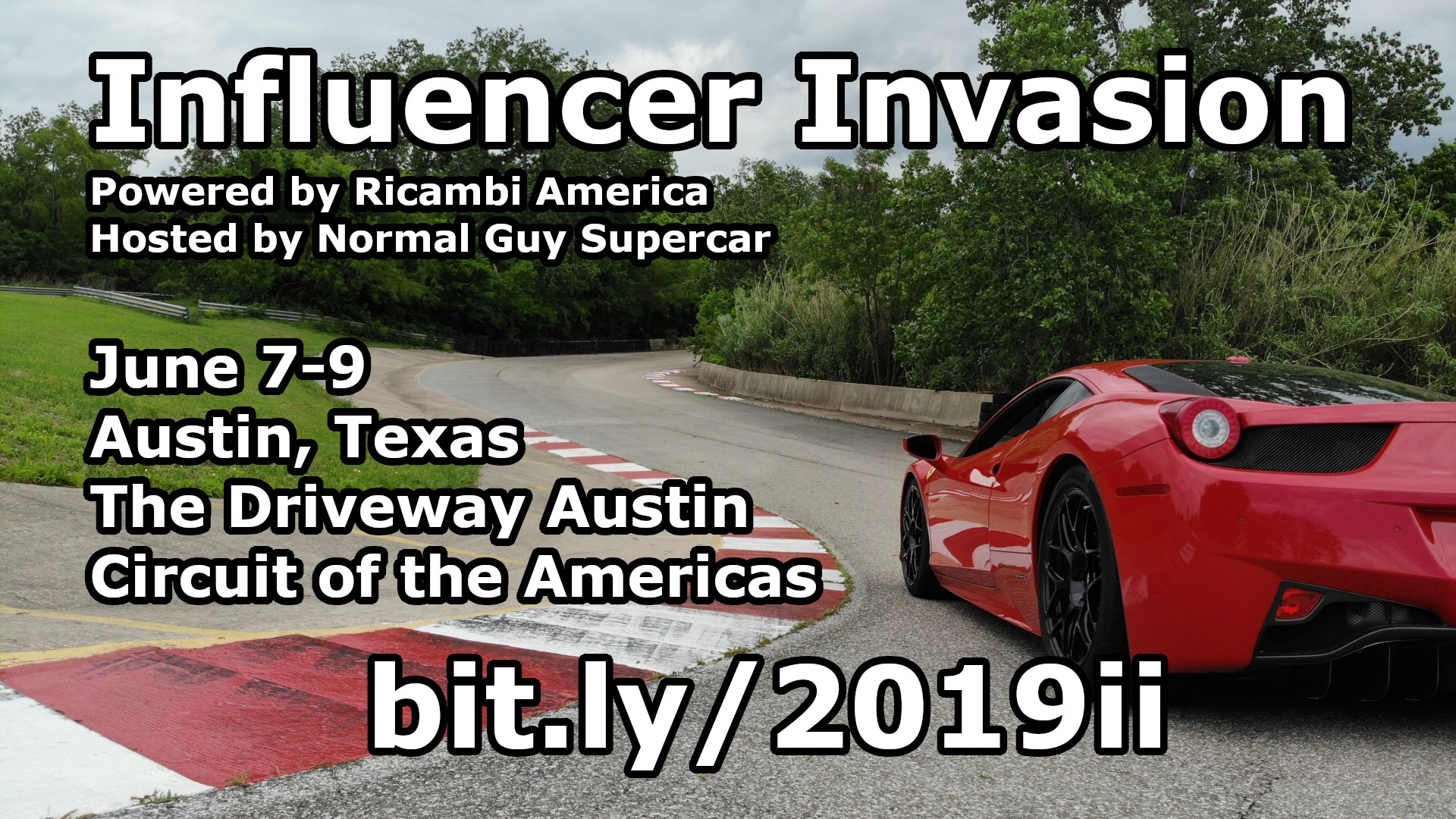 2019 Influencer Invasion | Normal Guy Supercar
