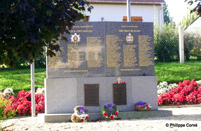 Image result for le mesnil patry memorial