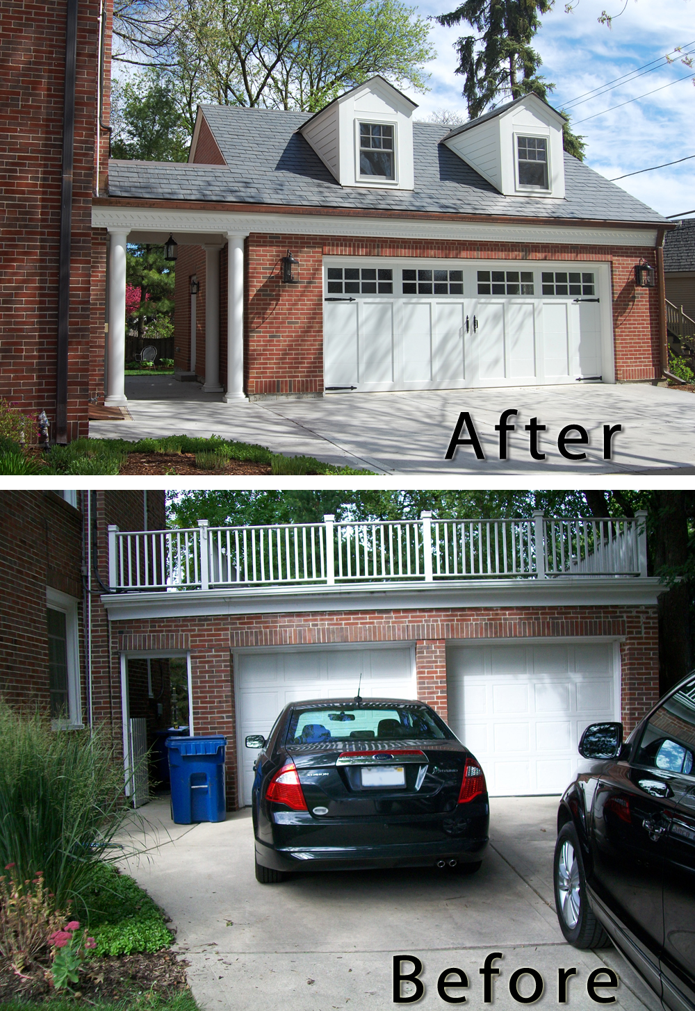 Garage Addition Before And After Normandy Remodeling