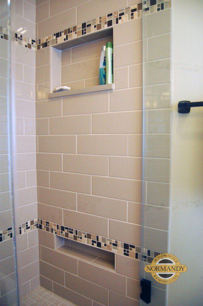 Bathroom Remodeling Ideas Shower Shaving Niche  Normandy Remodeling