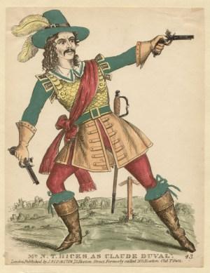 Historical Representation of Claude Duval