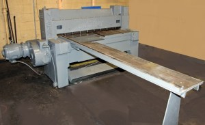 "Niagara 48"" x 12 Gauge Mechanical Power Squaring Shear"