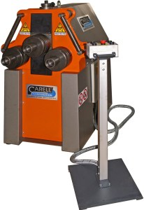 """Carell 2 1/2"""" x 1/4"""" Power 3 Roll Ring and Angle Roll Bender, G50-HV"""