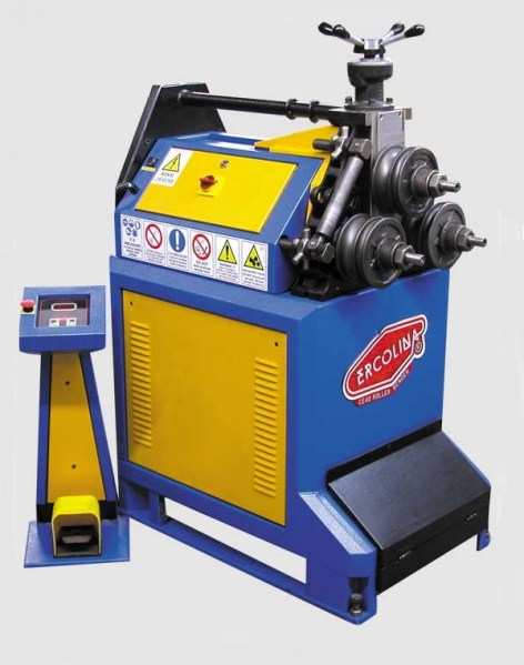 """Ercolina 2"""" Manual Angle Roll Section Bender, CE40MR3"""