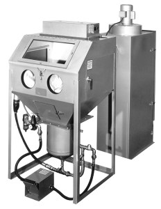 """Trinco 36"""" x 30"""" Sandblaster with Direct Pressure Cabinet and Dust Collector"""