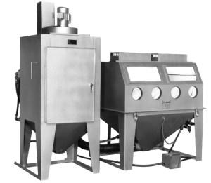 "Trinco 60"" x 48"" Sandblaster with Split-Level Direct Pressure Cabinet"