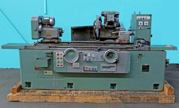 Shigiya Seiki GUA-32-100 Universal Cylindrical Grinder