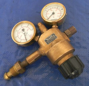 Norweld AGA R-21 Gas Regulator For Welding