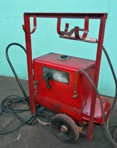 General Electric 200 Amp 6-WD Arc Welder With Cart