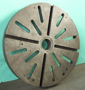 "Heavy Duty 24"" Lathe Face Plate"