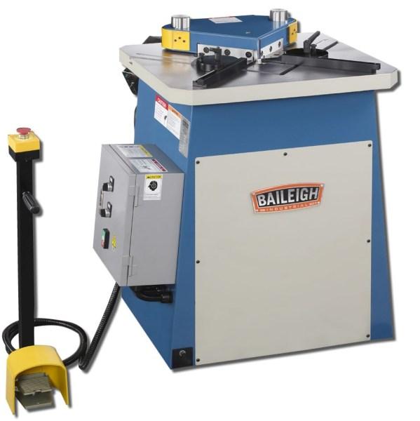 Baileigh 9 Gauge Sheet Metal Corner Notcher, SN-F09-MS