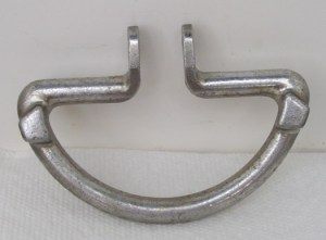 "New 4"" Solid Aluminum Grab Handle With Vintage Design"