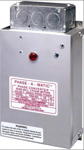 Phase-A-Matic PAM-600HD Static Phase Converter, 3 - 5 HP