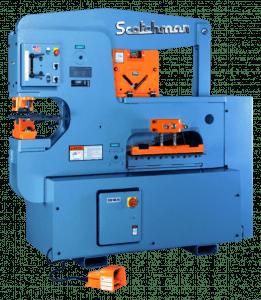 Scotchman 120 Ton 3-Station Hydraulic Ironworker, 12012 24M