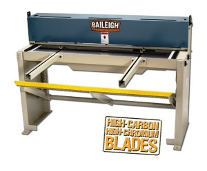 "Baileigh 52"" x 16 Gauge Manual Foot Shear, SF-5216"