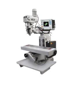 "Republic Lagun 55"" x 10"" 2-Axis Knee Mill with Fagor CNC Control, MillMatic II"