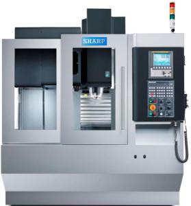 "Sharp 24"" x 16"" CNC Linear Way Compact Vertical Machining Center, SVL-2416SE"