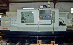 "Willis 26"" x 80"" CNC Lathe with Fanuc 0i-TC Control, 2680CNC"