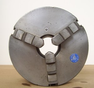 """Strong 8"""" 3-Jaw Scroll Chuck D1-5 Spindle"""