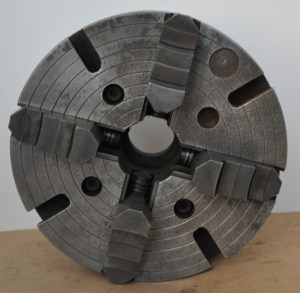 """12"""" 4-Jaw Independent Chuck, 1 3/8"""" - 8 TPI"""