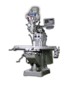 "Sharp 10"" x 50"" Vertical Knee Mill Premium Package, TMV-K"