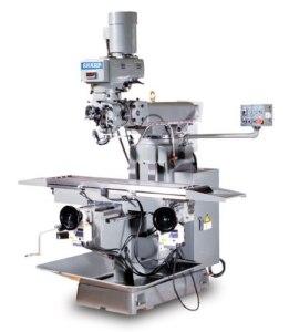 """Sharp 12"""" x 58"""" Vertical Knee Type Mill, V-1"""