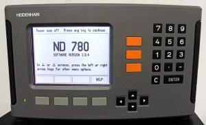 """Heidenhain Retrokit DRO Package for 14"""" x 40"""" Lathe, ND-780"""