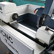 """Supertec 8"""" x 20"""" CNC Cylindrical Grinder with Fanuc Series O-GC Control, G20P-50"""