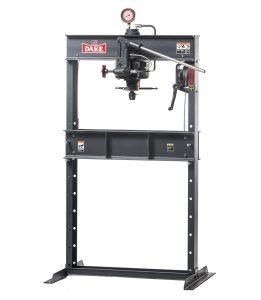 Dake 75 Ton Hand Operated Hydraulic H-Frame Press, 75H