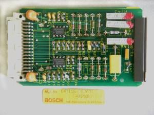 Bosch Circuit Board B201 For Lathe Controller