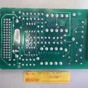 Bosch Circuit Board B201 For Lathe Controller