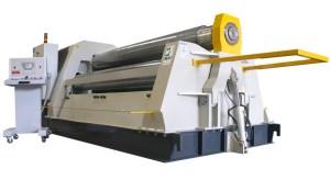 """Carell 10' x 3/4"""" Full Hydraulic 4-Roll Plate Roll, 4RH-20/5"""