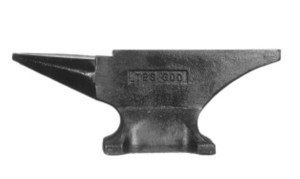 Pieh Blacksmith Tools TFS 300 lbs. Single-Horn Blacksmith Anvil