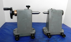 TAILSTOCK CENTER SET for TOOL & CUTTER GRINDER