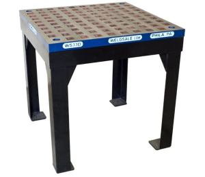 Weldsale 3' x 3' Lite Duty Platen Welding Table with Stand, WSC-33D