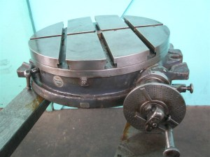 "BROWN & SHARPE 18"" ROTARY TABLE"