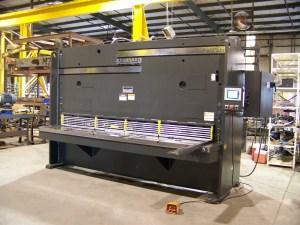 """Standard Industrial 10' x 1/2"""" Hydraulic Shear, AS500-10"""