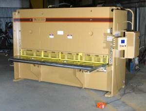 """Standard Industrial 6' x 1/2"""" Hydraulic Shear, AS500-6"""