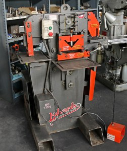 "Edwards 50 Ton ""Jaws IV"" 4-Station Hydraulic Ironworker"