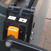 Haco 10′ x 220 Ton CNC Hydraulic Press Brake, SRM 220 10 8