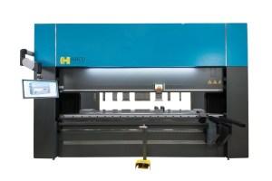 Haco 12′ x 165 Ton Multi-Axis Hydraulic CNC Press Brake, ERM 165 12 10