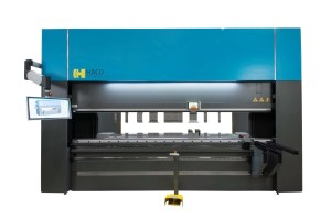 Haco 10' x 220 Ton Multi-Axis Hydraulic CNC Press Brake with Hydraulic Clamping and CNC Crowning, PRM 220 10 8