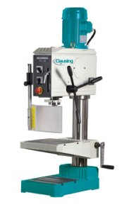 """Clausing Ibarmia 19.7"""" Geared-Drive Round-Column Tapping Drill, TM25RS"""